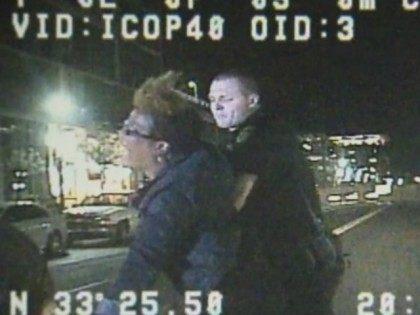 ASU campus police dash-cam arrest video