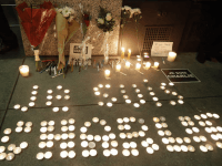 San Francisco 'Charlie Hebdo' Memorial (AP / Marcio Jose Sanchez)