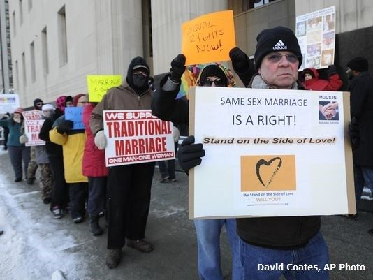 Same Sex Marriage Protest