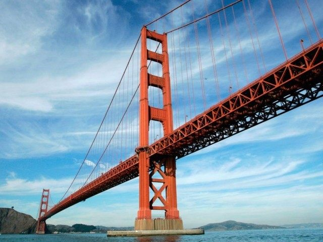 San Francisco's Golden Gate Bridge (Associated Press)