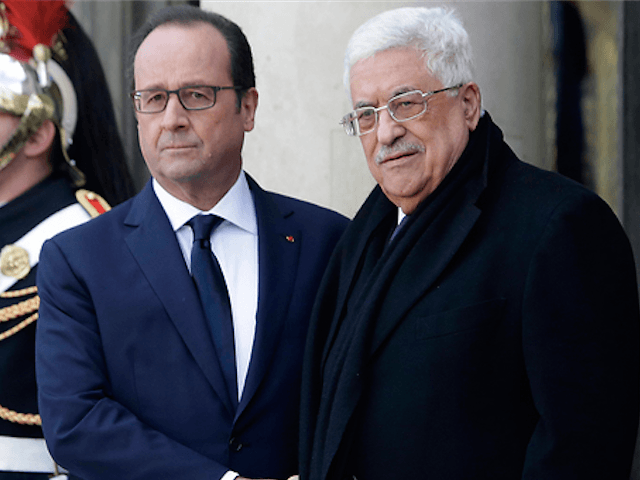 Abbas in Paris at Anti-Terror Rally (AP)