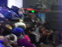 Amateur video of Chris Brown concert shooting (Screenshot / Youtube / Calibuzz209)
