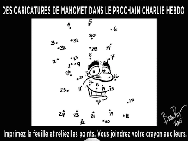 Journal de Montreal Charlie Hebdo tribute