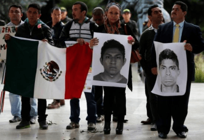 Missing Students in Mexico (Reuters)