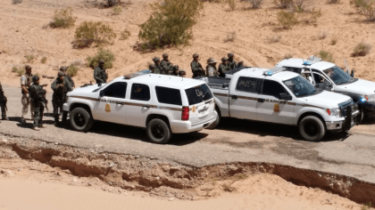 BLM Federal Agents at Bundy Standoff