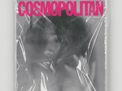 Artist Leo Burnett, commissioned by Cosmo, made this Cosmo mock-up cover to raise awareness on honor killings