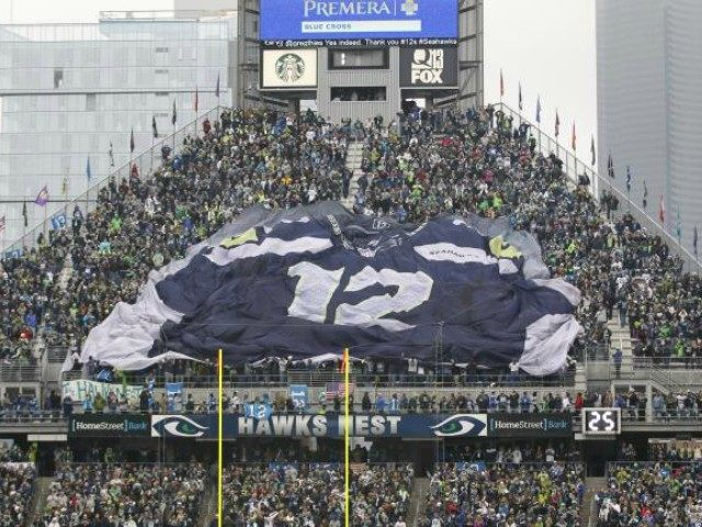 Seahawks 12th Man Photo by AP John Froschauer