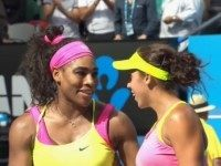 Serena Williams and Madison Keys