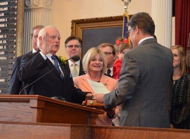 Sid Miller Oath of Office