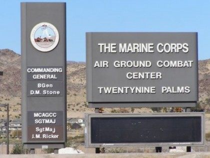 Twentynine Palms (Marine Corps via Associated Press)