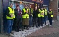 UKIP's campaign day St. John's