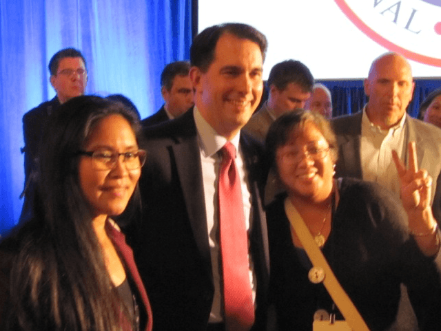 Scott Walker at RNC in Coronado (Michelle Moons / Breitbart News)