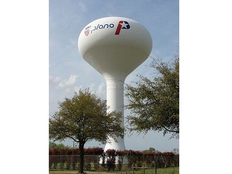 Plano Water Tower
