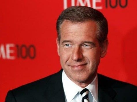 Television personality Brian Williams arrives at the Time 100 Gala in New York