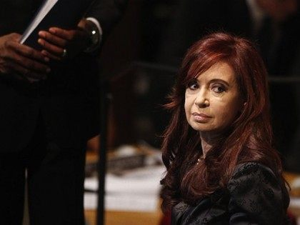 President of Argentina Cristina Fernandez de Kirchner at the UN