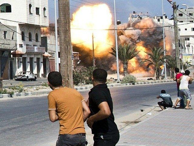 israeli-strike-AFP