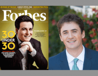 Forbes 30 Under 30 2015 Cover, left. Alexander Marlow, right.