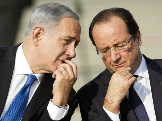 netanyahu-hollande-AFP