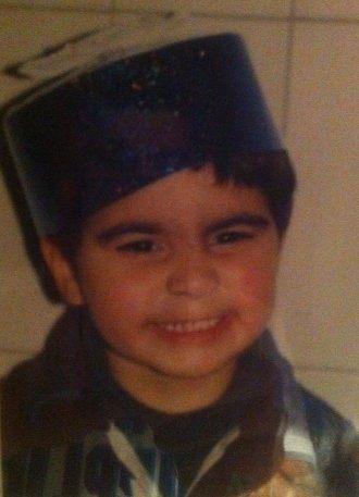 Yohan as a child