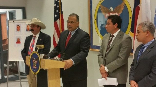 Texas border police press conference