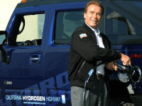 Arnold Schwarzenegger's Hydrogen Highway (Ann Johannson / Associated Press)
