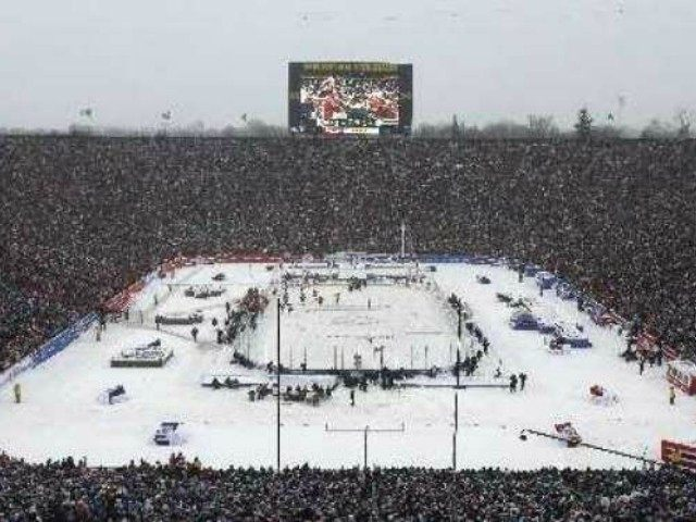 Big House Michigan Hockey