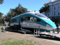Bullet Train in Sacramento (Facebook)