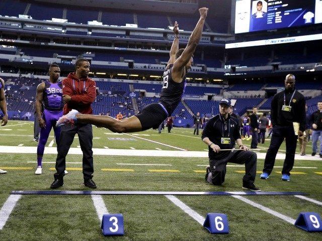 Byron Jones Broad Jump