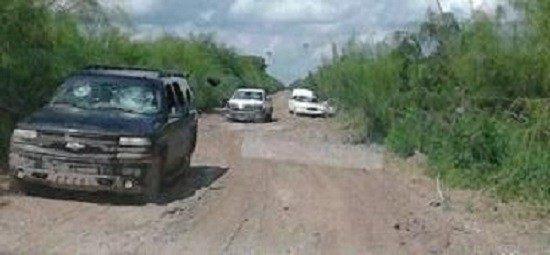 Cartel Gun Battle near Matamoros