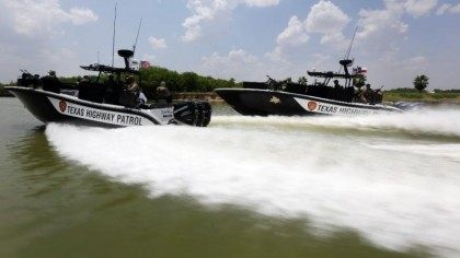 DPS Gun Boats - AP - Eric Gay