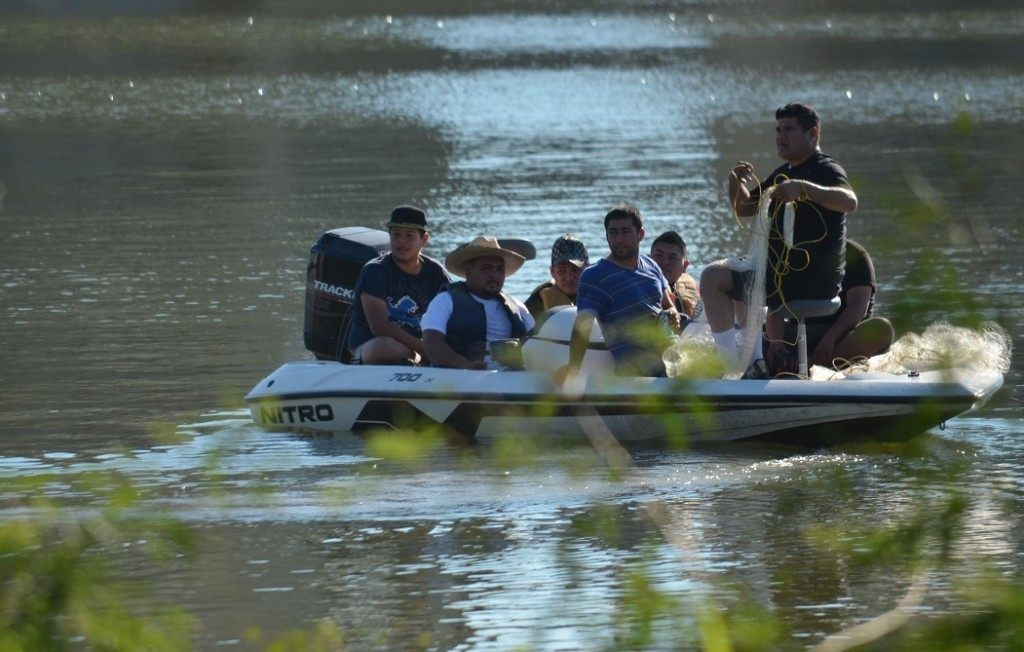 Attempted dropoff of immigrants thwarted by Texas DPS Troopers. Breitbart Texas Photo by Lana Shadwick