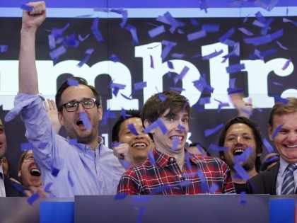 David Karp of Tumblr (Mark Lennihan / Associated Press)