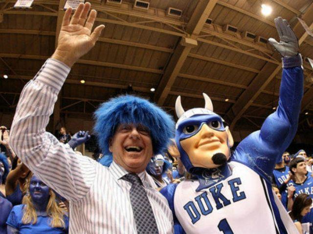Dick Vitale Duke 105