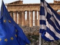 Europe Greece Flags Athens