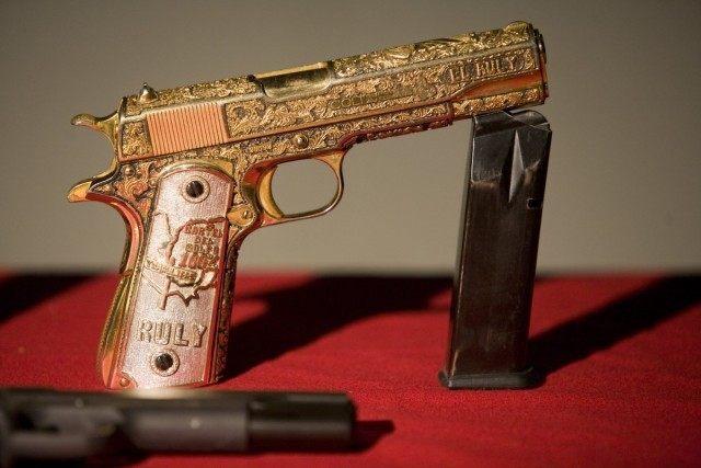Gold Gun - Drug Cartel - Reuters-Tomas Bravo