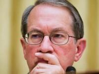House Judiciary Committee Chairman Rep. Bob Goodlatte, R-Va. listens to the testimony of Attorney General Eric Holder, during the committee's hearing on the oversight of the Justice Department, Tuesday, April 8, 2014, on Capitol Hill in Washington.