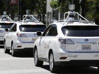 Google Cars (Eric Risberg / Associated Press)
