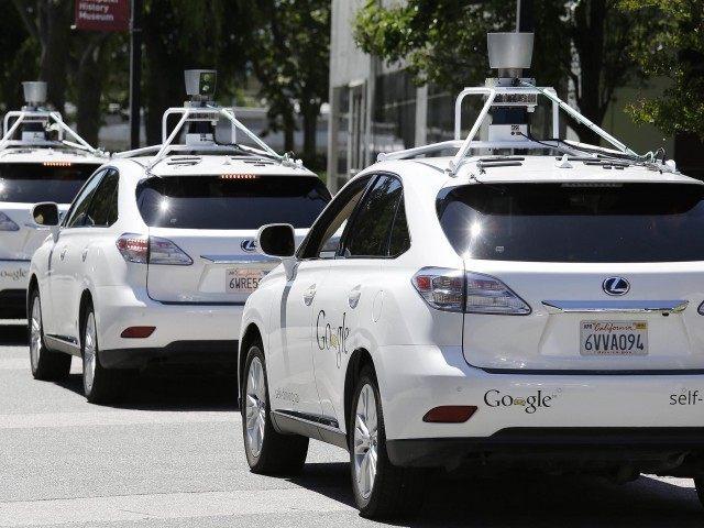 Google Cars (Eric Risberg / Associated Press)