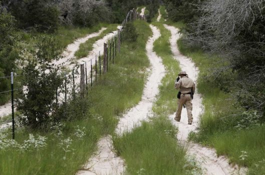 Guarding the border - AP Photo