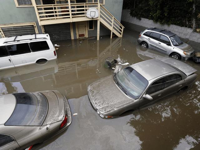 Hollywood Flood (Nick Ut / Associated Press)