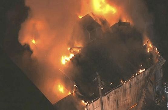 Islamic Center Fire - KTRK Screenshot