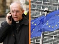 Justin Welby Church of England EU Brussels Europe