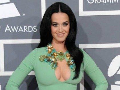 Katy Perry Cleavage AP Grammys