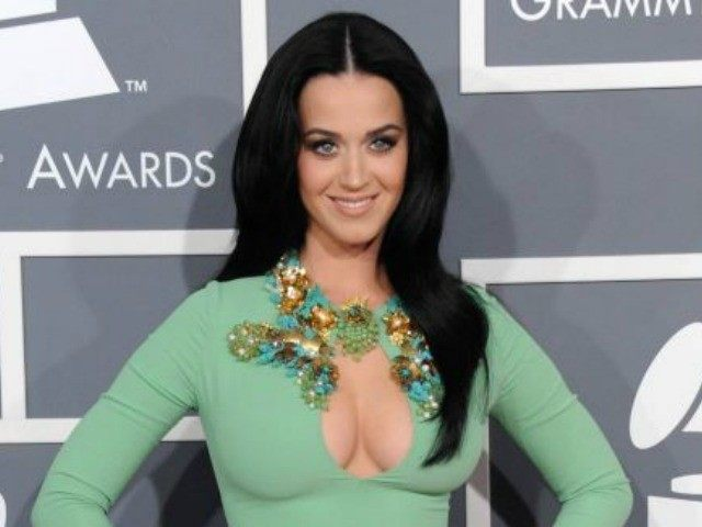 Katy Perry Cleavage AP Grammys
