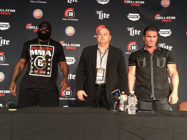 Kimbo Slice and Ken Shamrock