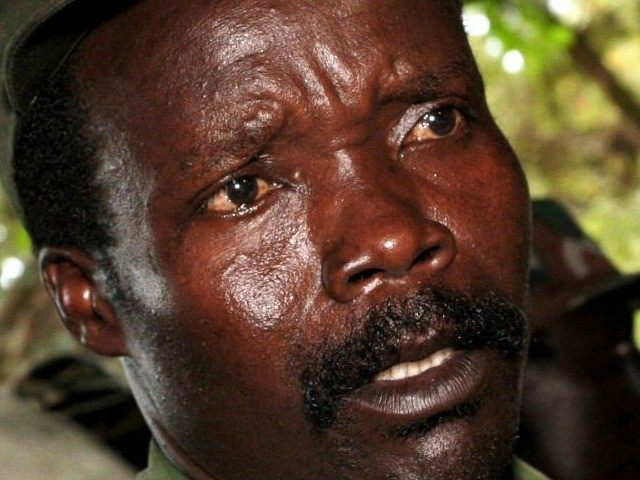 Joseph Kony in southern Sudan in November 2006 (file photo)