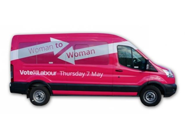 Labour-Battle-Bus
