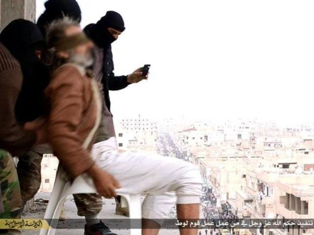 ISIS Throws Accused Gay Man from Roof–but When He Survives