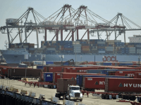 Long Beach Port (Jae C. Hong / Associated Press)