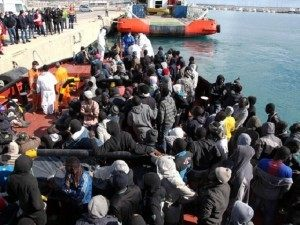 Migrants Italy Boat AP